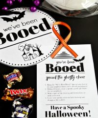 You've Been Booed free printables for Halloween Boo Basket at TidyMom.net