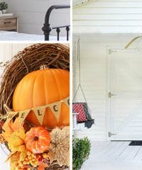Fall for DIY….projects for your fall home