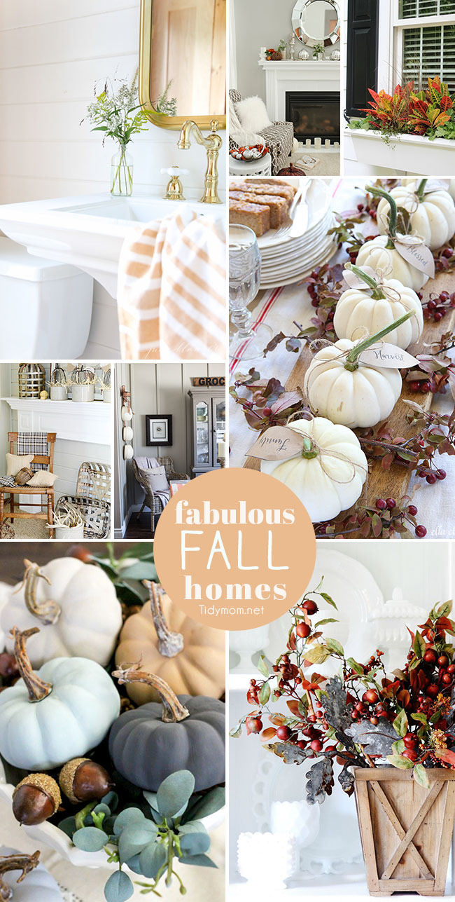 Be Inspired To Give Your Home A Taste Of Fall With These 8 Fabulous Fall  Homes