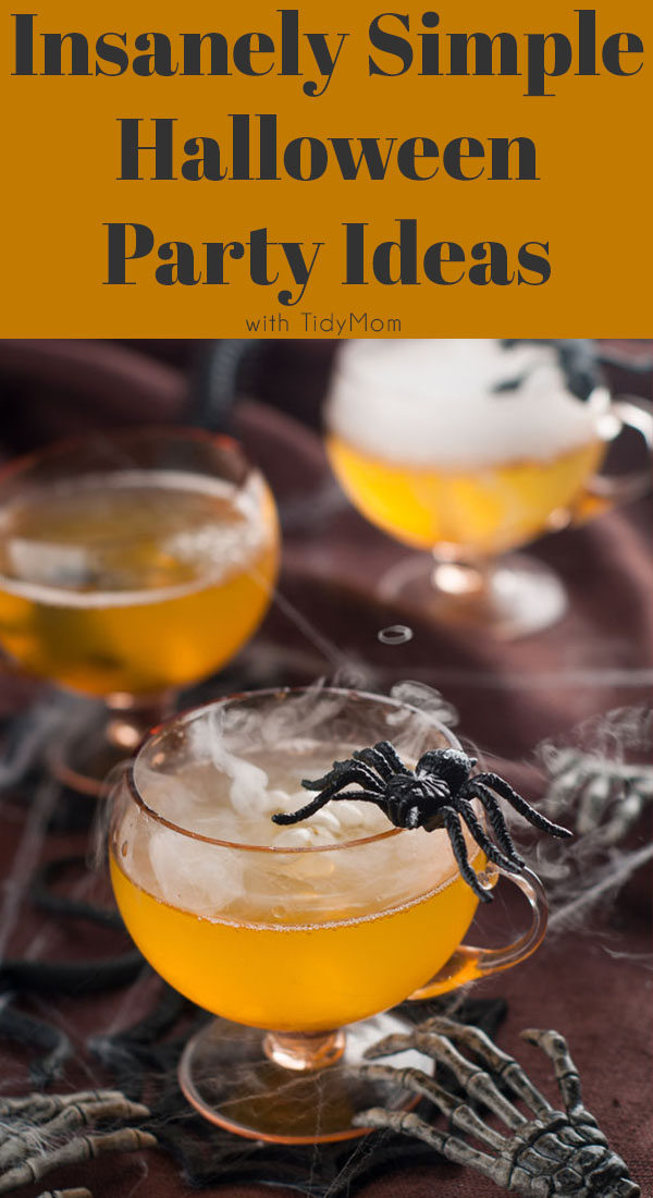 Insanely Simple Halloween Party Ideas