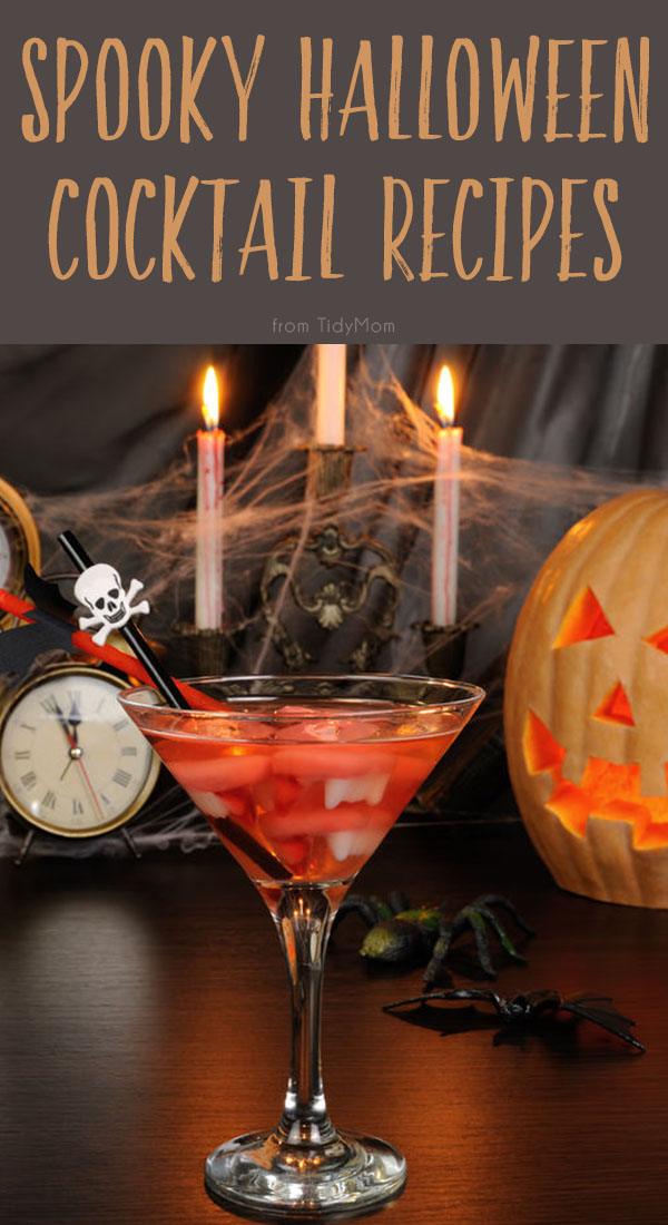 Impress your guests with these frighteningly delicious beverages at your party. Click to find 4 Spooky Halloween Cocktail Recipes.