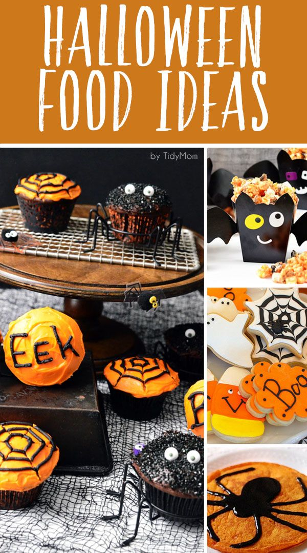 Half the excitement of Halloween is all the fun food. Click to find easy Halloween Food Ideas that ghouls and goblins of any age will enjoy!