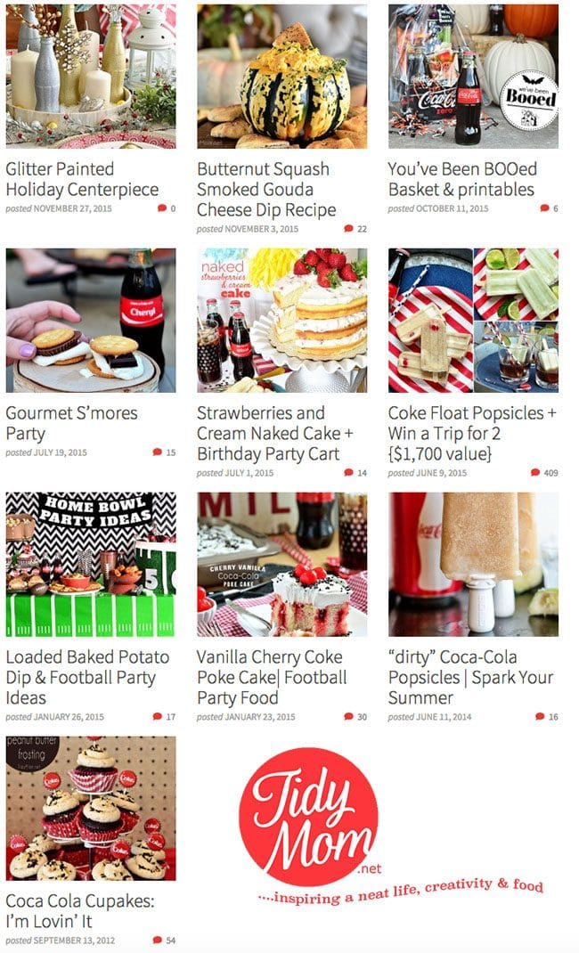 More Coca-Cola Ideas! Recipes, crafts, entertaining and more at TidyMom.net