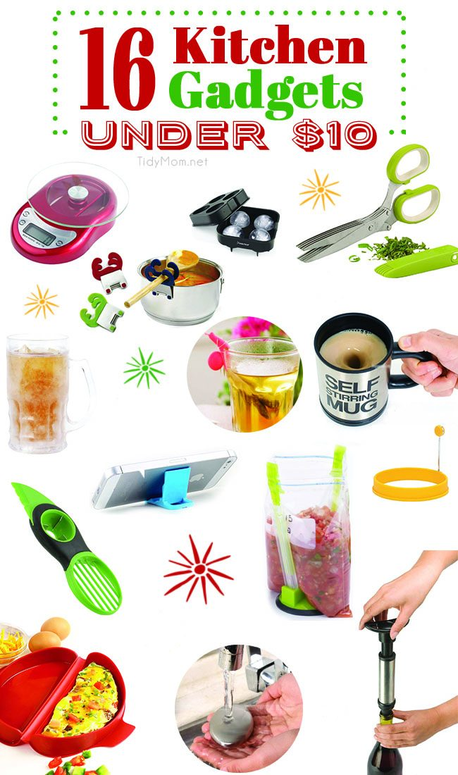 Gift Guide for the Foodie | 16 Kitchen Gadgets under $10