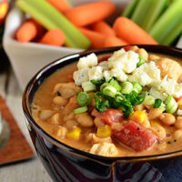 Buffalo Chicken White Chili