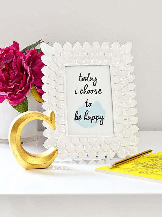 self encouragement printables tidymom