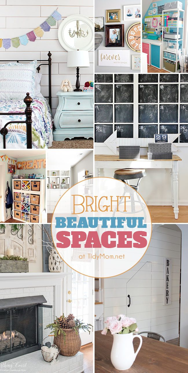 Bright Beautiful Spaces to inspire