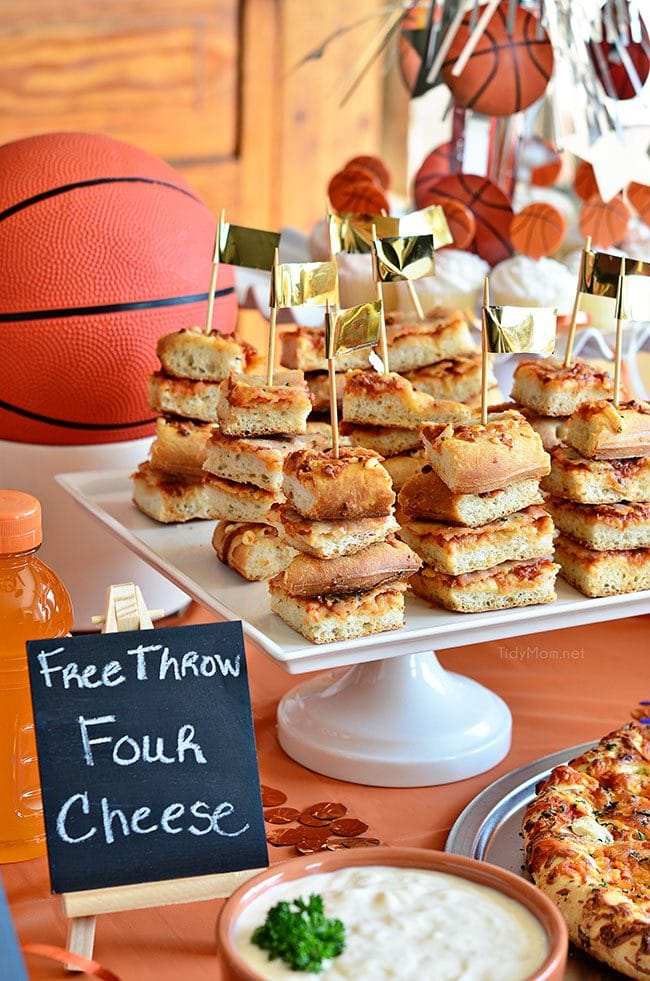 Serve Pizza on skewers for your next party