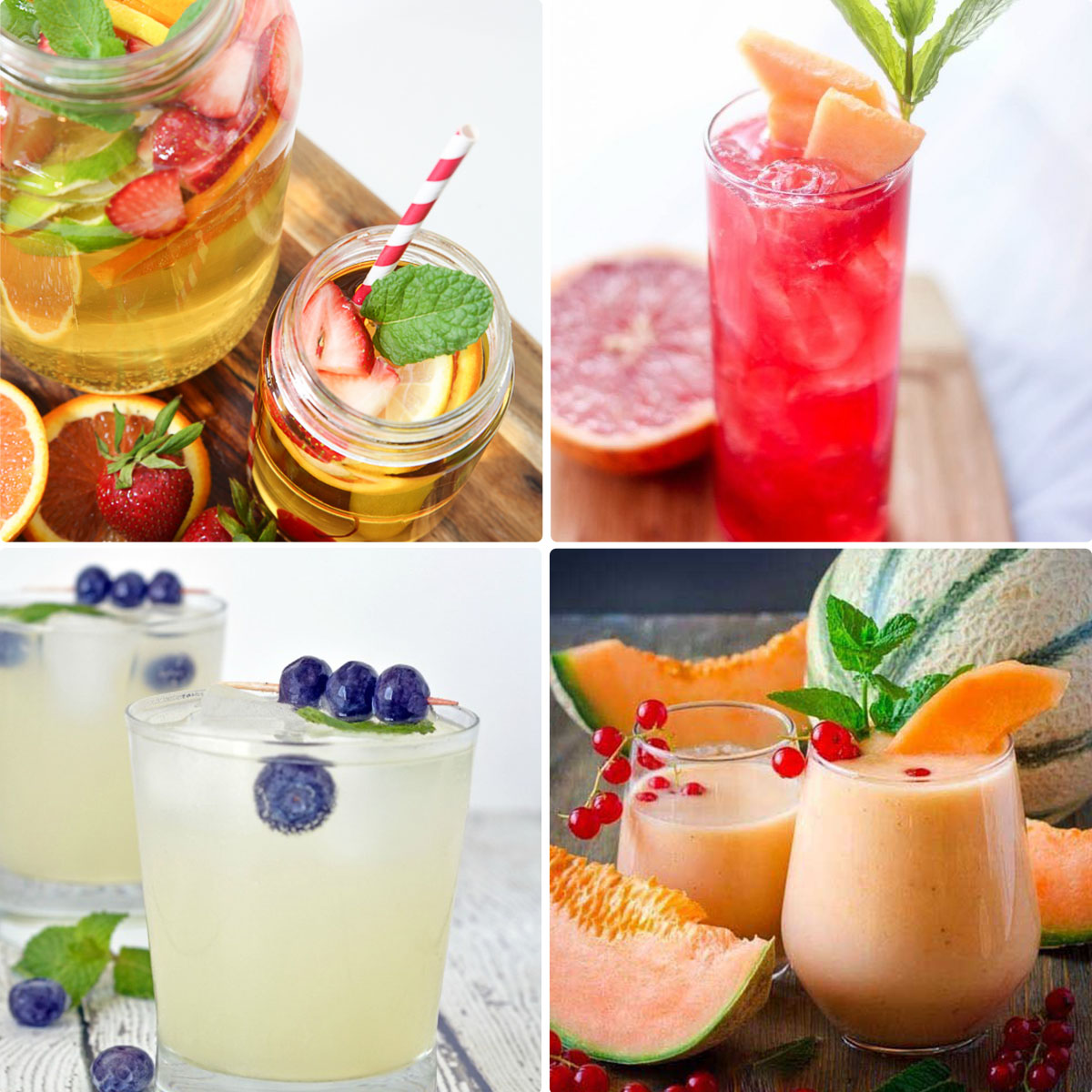 Refreshing Fruity Drink Recipes For Summer