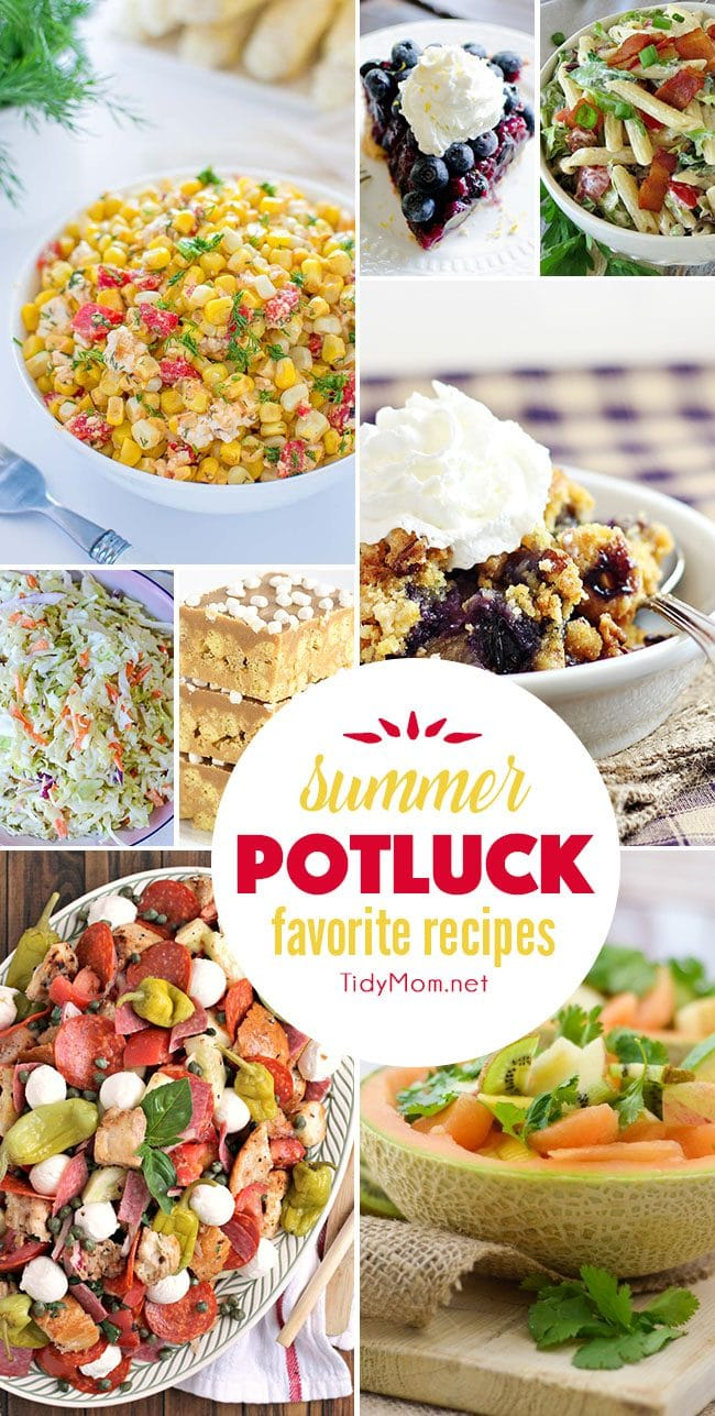 Be the MVP this summer with these Summer Potluck Favorite Recipes!!