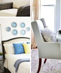 Inspiring Summer Spaces, Makeovers and Home Tours. From basements to dinning rooms to patio you're sure to be inspired by these beautiful summer spaces