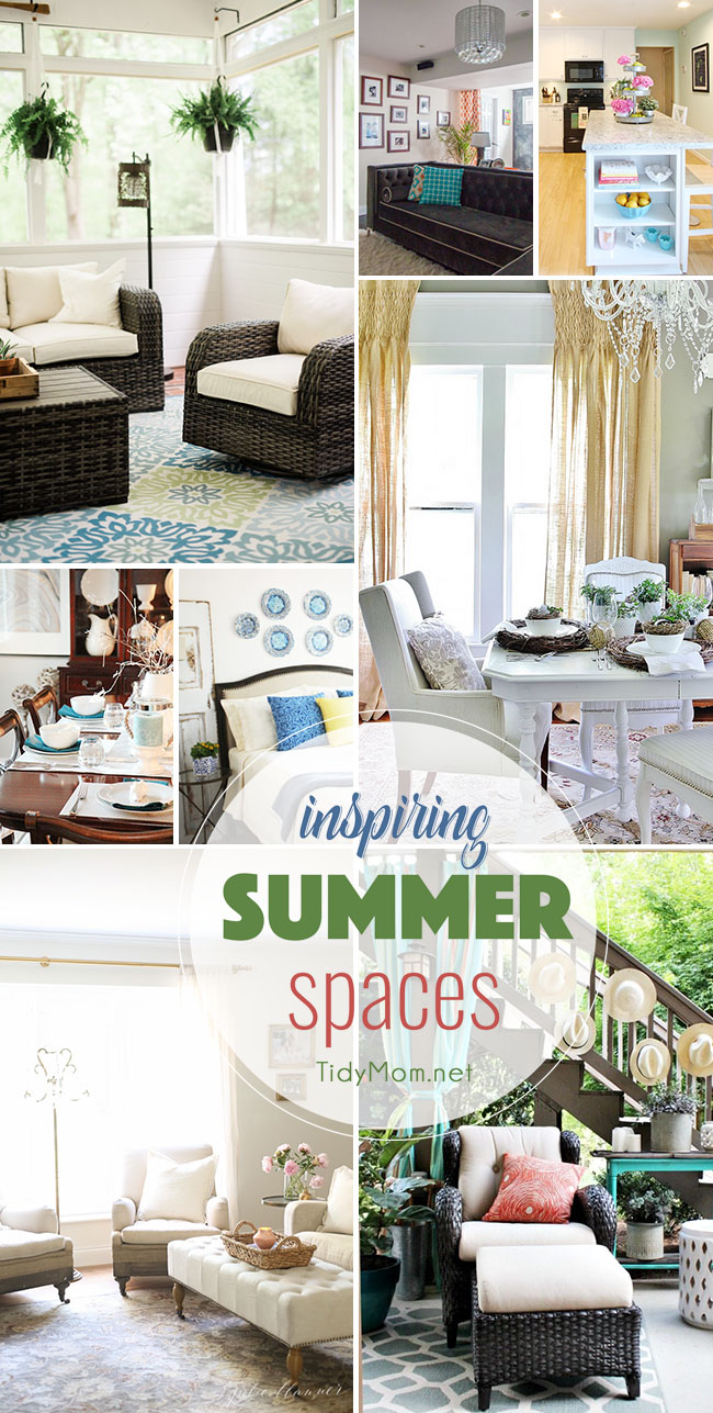 Summer Decor Ideas simple summer decorating ideas for your home | tidymom®