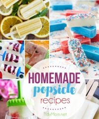 Delicious Homemade Popsicle Recipes to keep you cool this summer! visit TidyMom.net for all the popsicle recipes.
