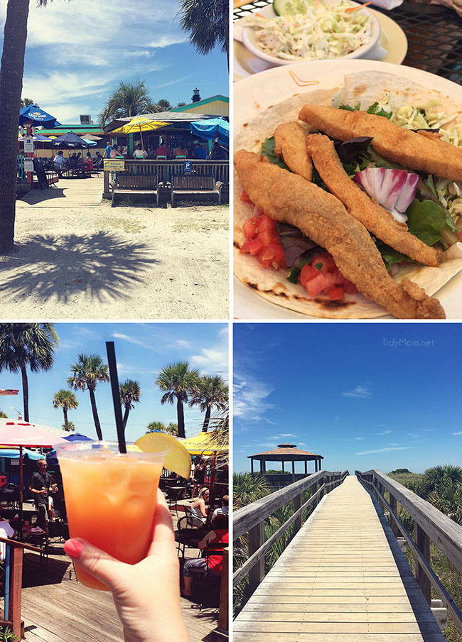 Tybee Island, Georgia - North Beach Bar and Grill. More Savannah Sightseeing at TidyMom.net