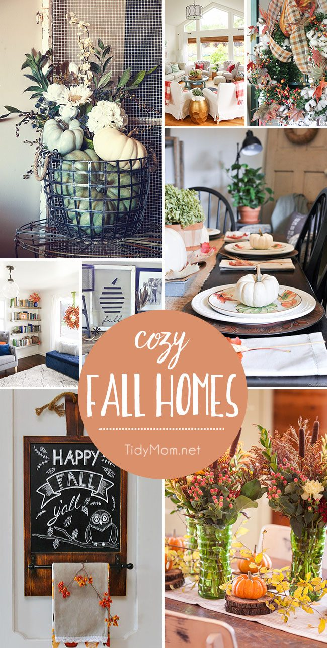 Cozy Fall Homes anyone can have.
