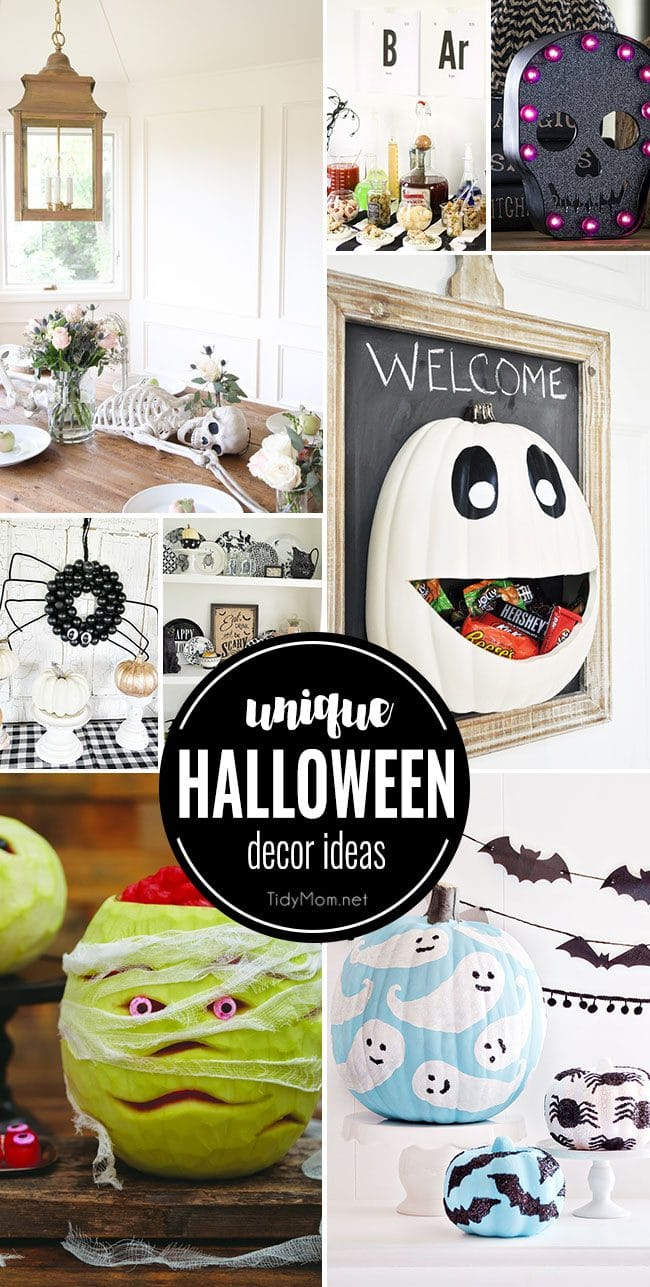 Unique Halloween Decor Ideas that are Spooktacular!