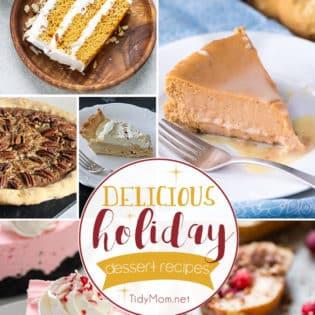 Delicious Holiday Dessert Recipes