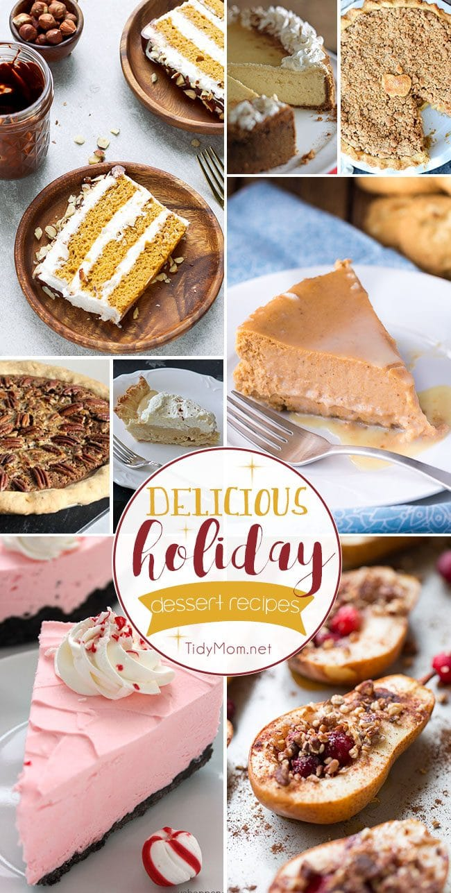 Delicious Holiday Dessert Recipes