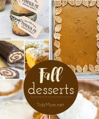 Fall Desserts That Would Be Wonderful For Thanksgiving.