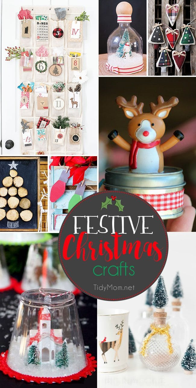 Festive Christmas Crafts the Whole Family Will Love | TidyMom®