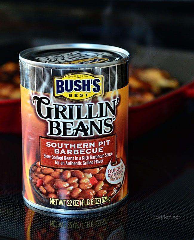 BBQ Chicken Pot Pie with BUSH'S Grillin' Beans