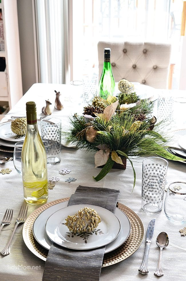 Holiday entertaining is upon us. One of my favorite holiday entertaining tips is to keep an emergency clean up kit handy for party spills and mishaps. 6 HOLIDAY ENTERTAINING TIPS - at TidyMom.net