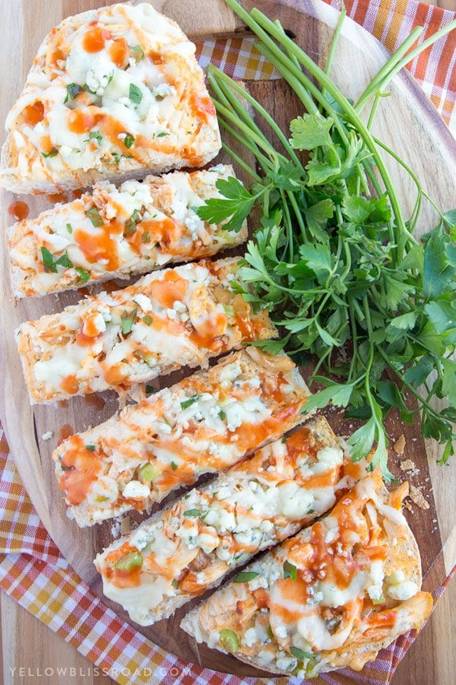Game Day Party Plan Buffalo Chicken French Bread Pizza