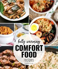 8 Favorite Belly Warming Comfort Food Recipes at TidyMom.net