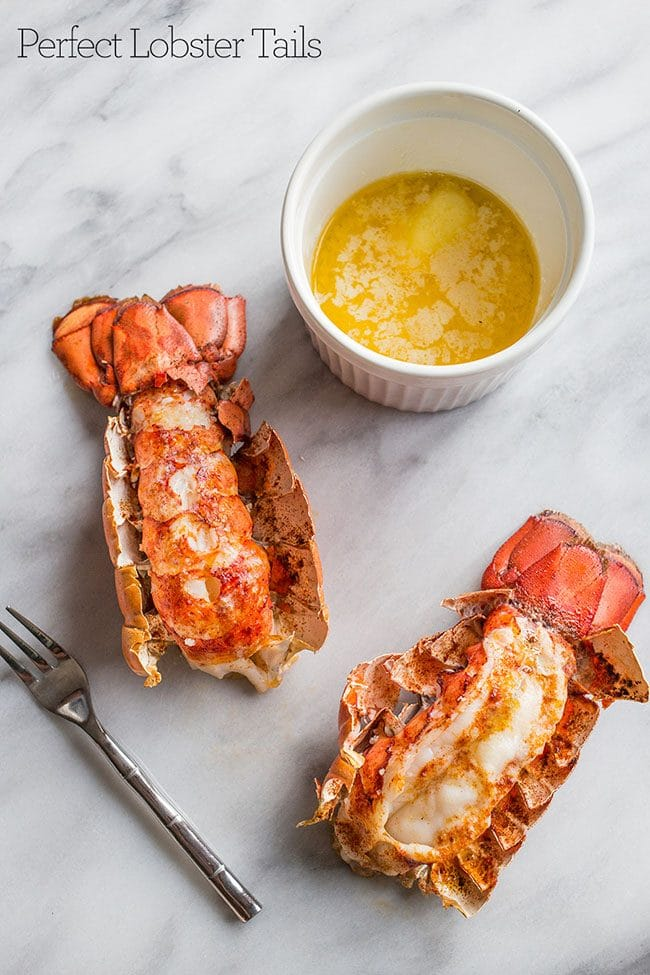 How to Cook Perfect Lobster Tails perfect for a Valentine's Day Dinner Meal Plan