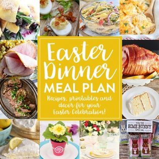 Create the perfect holiday menu with this Easter Meal Plan. From appetizers and mains to desserts and decor, find everything you need to make your holidayspecial. Get all the recipes and more at TidyMom.net