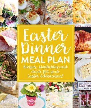 Create the perfect holiday menu with this Easter Meal Plan. From appetizers and mains to desserts and decor, find everything you need to make your holiday special. Get all the recipes and more at TidyMom.net