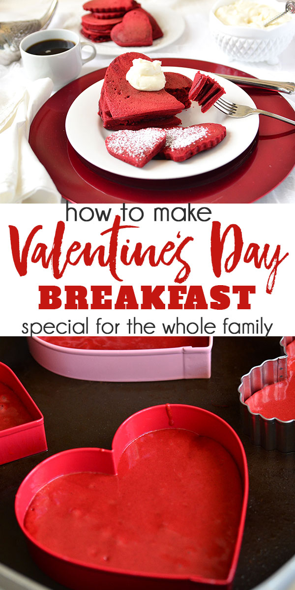 How to make Valentine's Day Breakfast special for the whole family.