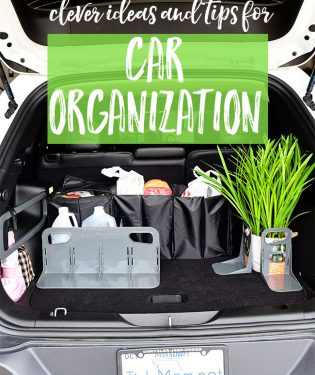 Most of us spend a lot of time in our vehicles. Don't let your car turn into a dumping ground. Keep it tidy with these clever ideas for car organization. Stay on top of the clutter at TidyMom.net