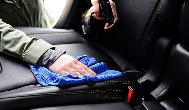 It's time to spring clean the car.  The winter months can wreak havoc on your car's exterior and interior. The change of season is the perfect time to detail your car, from top to bottom! Spring Car Cleaning Tips at TidyMom.net Make sure you use the right products, for each surface.