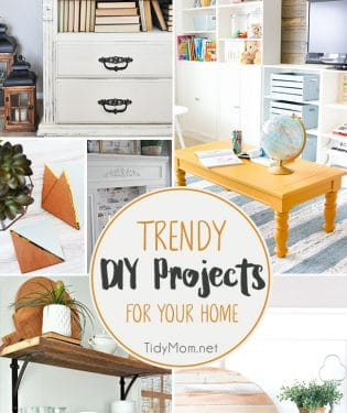 Trendy DIY Projects for your home!