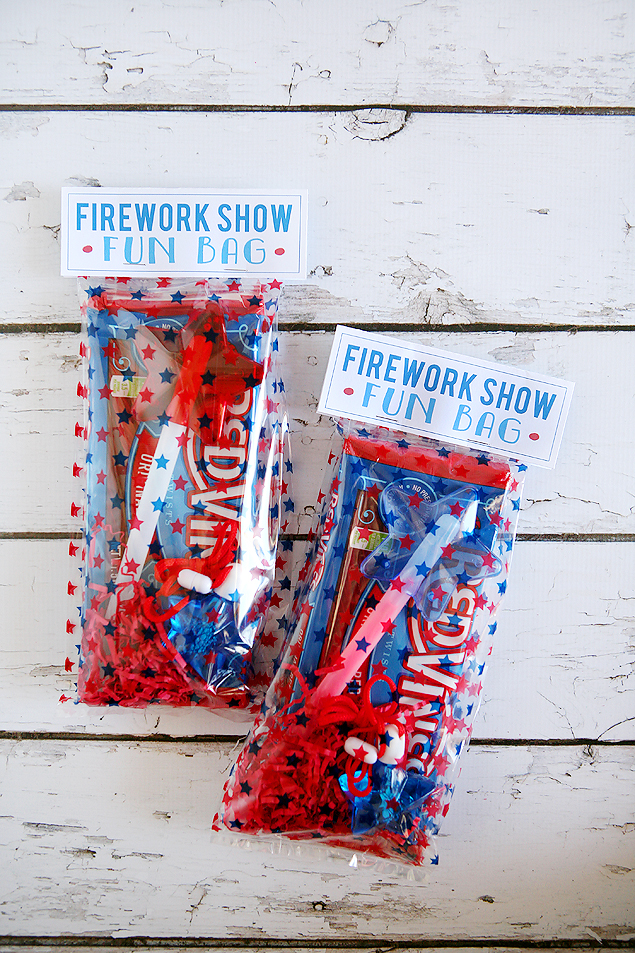 FIREWORKS SHOW FUN BAGS from Eighteen25