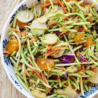 Light and Crunchy Chinese Slaw
