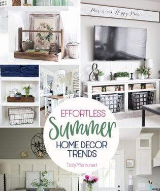 Effortless Summer Home Decor Trends