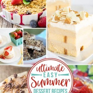 Ultimate EASY Sumer Dessert Recipes to make!