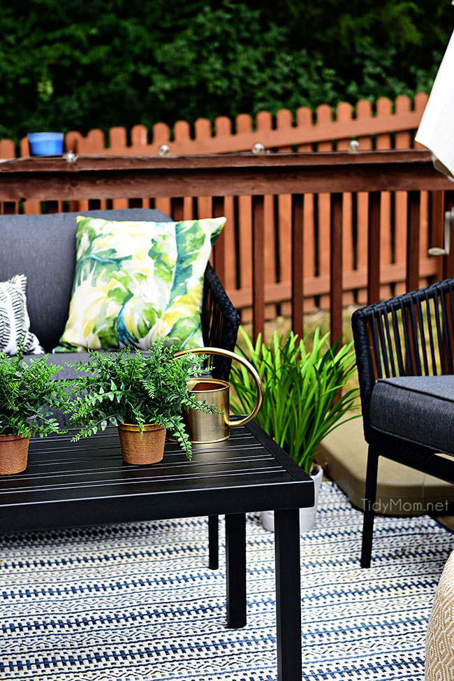 Learn How To Decorate A Small Deck Or Patio At TidyMom.net Part 49