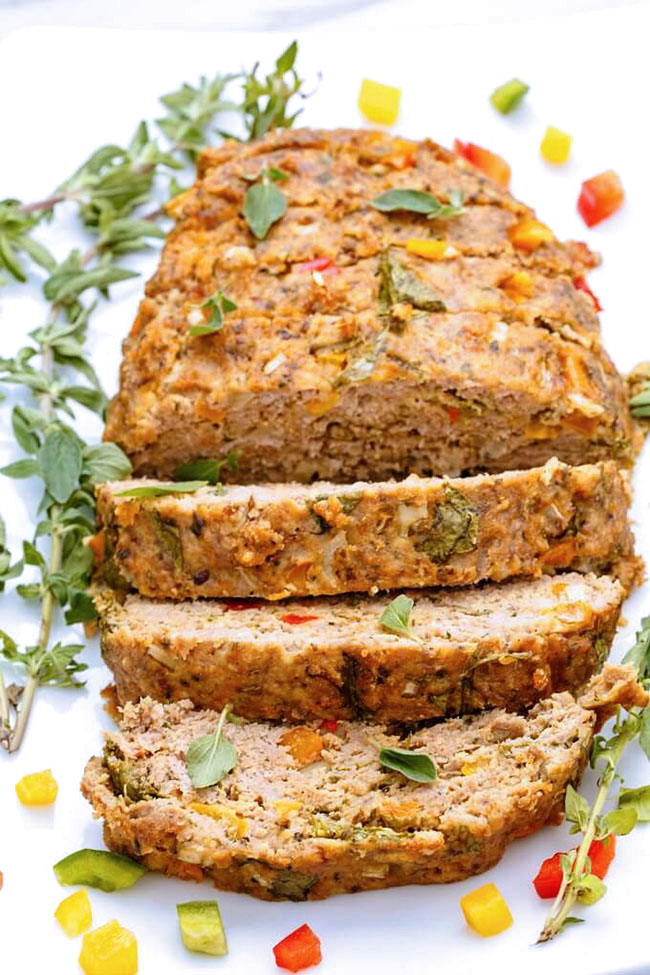 Best Comfort Food Meal Plan. Slow Cooker Turkey Meatloaf from The Cookie Writer. Get More meal plan recipes, printable and decor at TidyMom.net