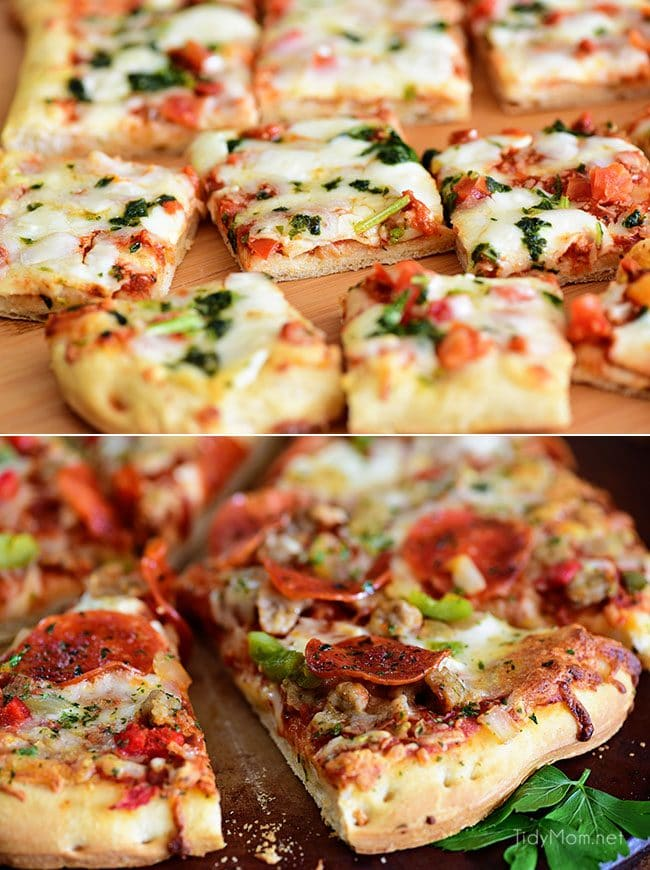 DiGiorno pizzeria! pizza close image