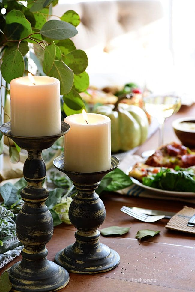 Fall Entertaining tablescape image