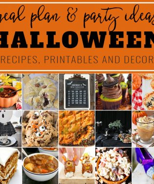 From creepy and spooky to just good ol' not-so-scary fall comfort food, we've got your little ghosts and goblins covered for Halloween night. In this collection of some of the best recipes and decor for a Halloween Meal Plan and Party! visit TidyMom.net for all the details