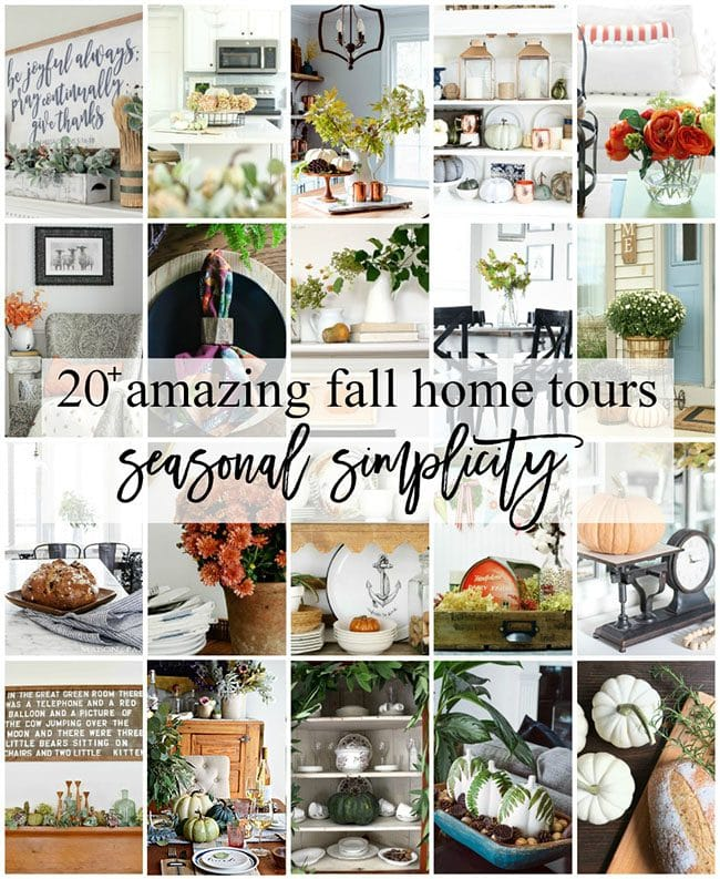 20+ Amazing Fall Home Tours. Seasonal Simplicity