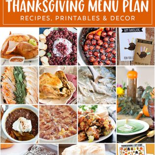 The Ultimate Thanksgiving Menu Plan from make-ahead slow cooker turkey and peacan topped sweet potatoes to cranberry appetizers and pumpkin creme brulee. You'll find family favorite Thanksgiving recipes that will have them coming back for more!! Get all the Thanksgiving Menu Recipes at TidyMom.net