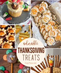 Adorable Thanksgiving Treats at TidyMom.net