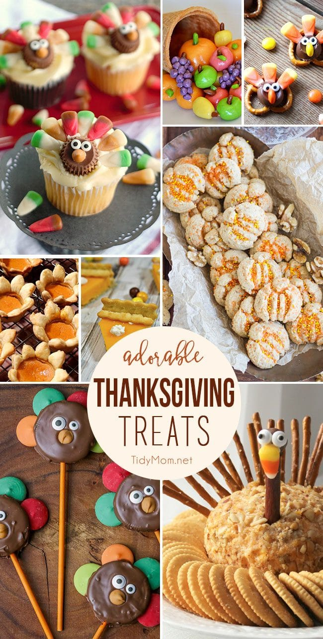 Thanksgiving Treats and party snacks