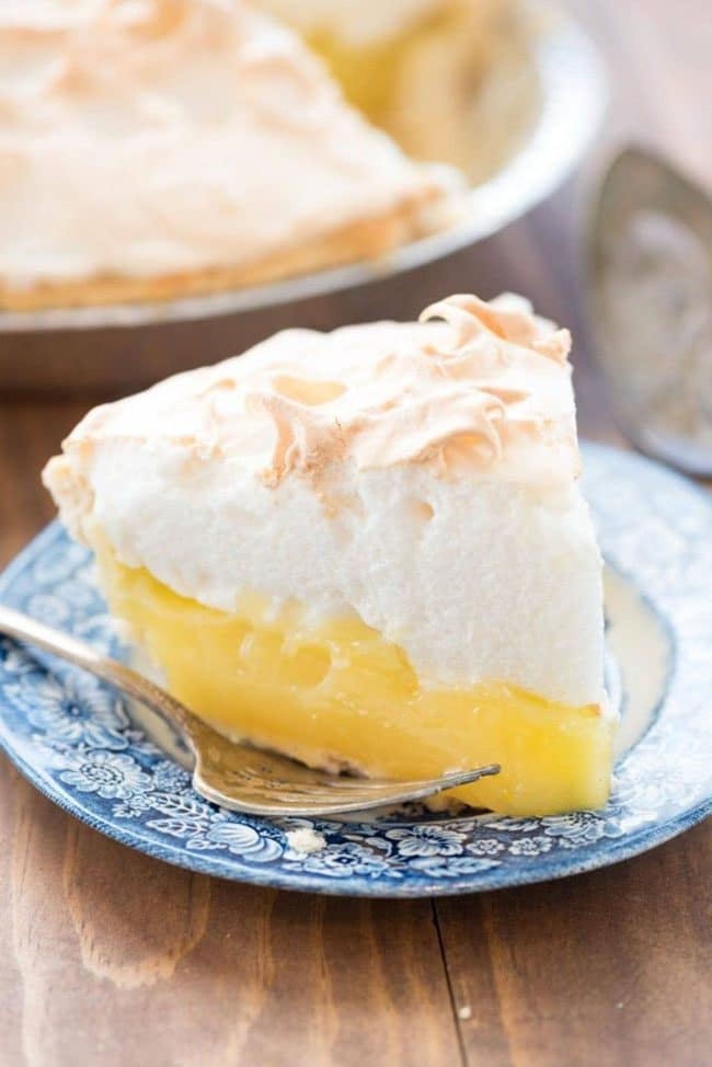 Lemon Meringue Pie from Crazy for Crust: The Ultimate Thanksgiving Menu Plan from make-ahead slow cooker turkey and peacan topped sweet potatoes to cranberry appetizers and pumpkin creme brulee. You'll find family favorite Thanksgiving recipes that will have them coming back for more!! Get all the Thanksgiving Menu Recipes at TidyMom.net