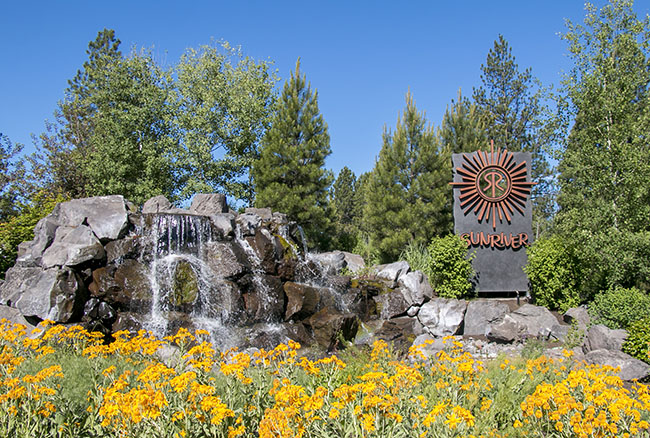 Sunriver Resort (Entrance) in Central Oregon should be on your travel bucket list! Be prepared to fall in love! Details at TidyMom.net